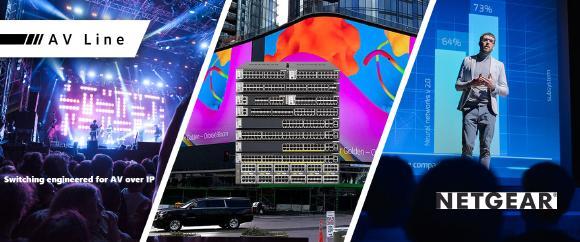Exertis Pro AV is new distributor for NETGEAR
