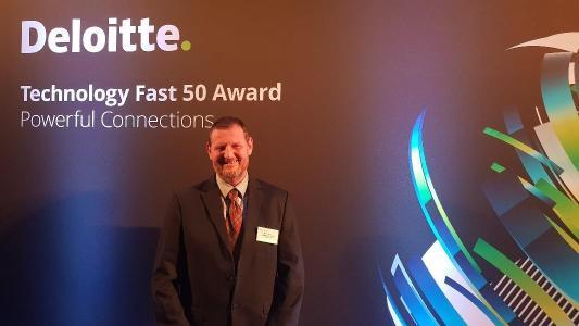 Dr. Bernd Baumstümmler at the award ceremony in Cologne, Source: Instillo GmbH