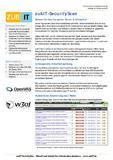 Datenblatt zubIT-SecurityScan