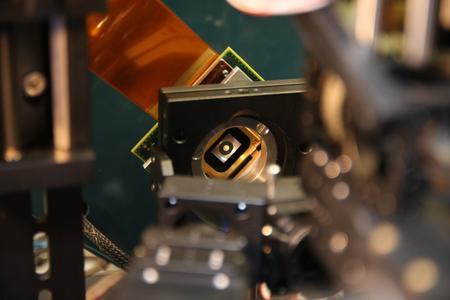 -Diese multifunktionale Blende der TU Ilmenau ermöglicht es Augenärzten, Lichtstreuung im Auge, die durch den Grauen Star verursacht wird, zu erkennen / © TU Ilmenau