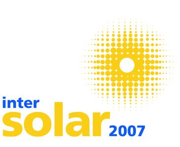 Logo Intersolar 2007