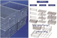 Das MEFO-BOX System mit Standard Reinigungskörben und Zubehörteilen ist darauf ausgelegt, die Effizienz und Qualität im Reinigungsprozess zu erhöhen.