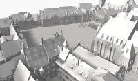 Dreidimensionales digitales Stadtraum-Modell, Nürnberg