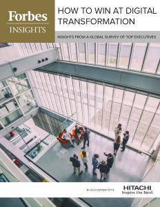 Neue Studie von Forbes Insights zur Digitalen Transformation