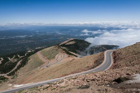 The legendary Pikes Peak track layout  (Image: Wunderlich)