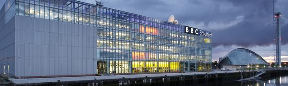 BBC building in Glasgow