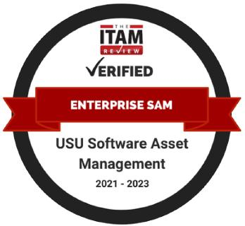 USU-Technologie erhält Enterprise-Software-Asset-Management-Zertifizierung von ITAM Review