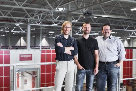 Von links nach rechts: Thomas Klein, Ronny Höhn und Michael Kawalier