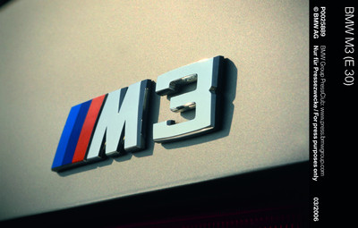 BMW M3 1st Generation