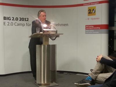 Rolf Schmidt-Holtz auf der Big 2.0 Veranstaltung