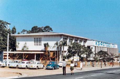 Der erste brasilianische Kolbenstandort lag in Santo André bei São Paulo