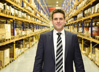 DR Claus Thiel, Distributionscenter Epiroc