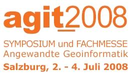 AGIT 2008 - 20 Jahre Netzwerk für Geoinformatik