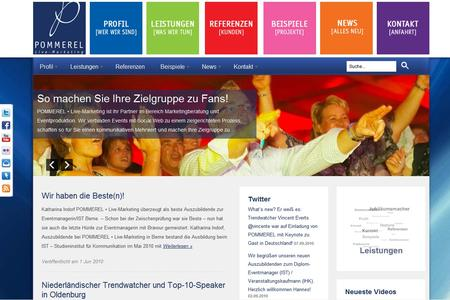 POMMEREL Homepage Relaunch