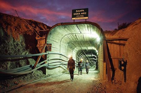 Minenportal auf der San Jose-Mine / Foto: McEwen Mining