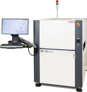 BF-3Di-Z1 von SAKI: dreidimensionale High-End Messtechnologie im Bereich der Automatischen Optischen Inspektion