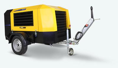 New series of portable compressors: HPA Series