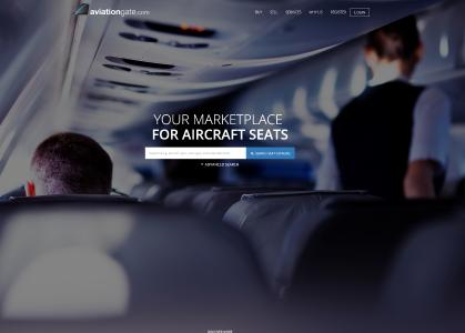 """aviationscouts GmbH relaunches the online marketplace for surplus aircraft seats """"aviationgate.com"""""""
