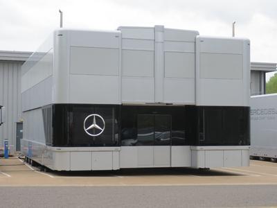 Schuler Motorsport Trailer Mercedes AMG  Petronas Formula 1 Team