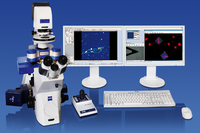 NanoWizard® 3 BioScience AFM setup on Zeiss Axio Observer