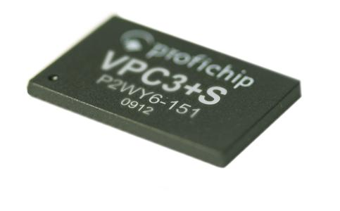 VPC3+S  - der kleinste PROFIBUS-DP Slave Controller ASIC der Welt