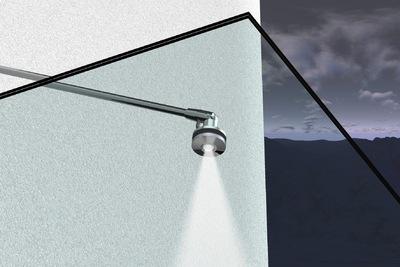 leuchtendes glasvordach f r ihren eingangsbereich von abel metallwaren klaus peter abel. Black Bedroom Furniture Sets. Home Design Ideas