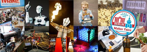 Veranstaltungstipp fürs Wochenende: Maker Faire Berlin