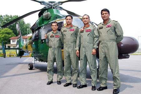 Bangladesh Army Pilots © Copyright ESEA Photographer Kiw Hui Bin