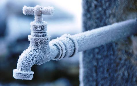 frostprotection of pipes