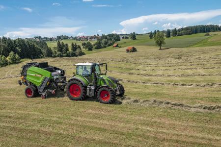 Die Landmaschinen von Fendt sind auf Feldern überall in Europa im Einsatz.