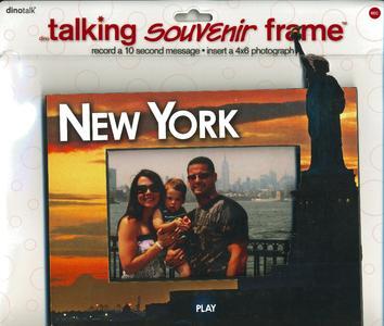 Sprechender Rahmen Motiv New York