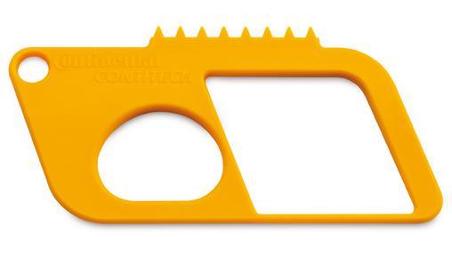 The ContiTech tester reliably checks belt wear (Photo: ContiTech)