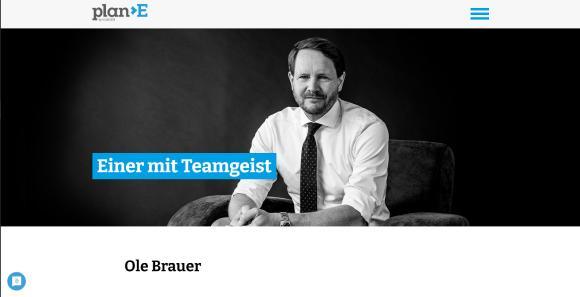 Ole Brauer - plan>E by ELSÄSSER - Erst der Mensch, dann die Zahlen und Paragrafen