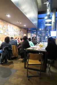 """Das erste Jobcafé in 2018 am 28. Februar wurde sehr gut angenommen. Im Heilbronner Mangold trafen sich 22 Teilnehmer um Informationen zum Thema """"Vorstellungsgespräch"""" zu erhalten / Bildquelle: WHF GmbH"""