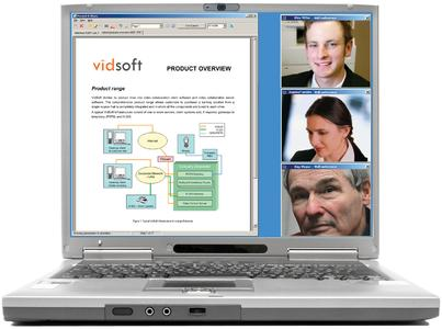 Laptop with VidSoft