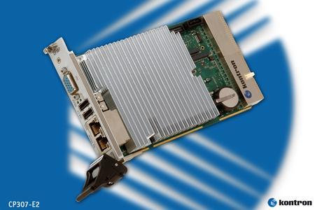 CompactPCI Multi-Core CPU Board für erweiterten Temperaturbereich von -40°C bis +85°C