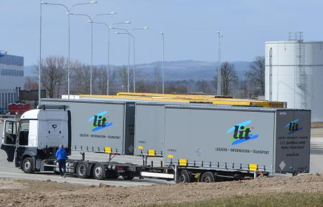 Seit November bestückt die L.I.T. das Distributionszentrum eines großen Konsumgüterunternehmens / Foto: L.I.T.