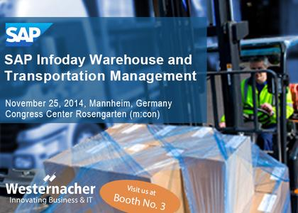 SAP-Infoday Warehouse and Transportation Management 2014