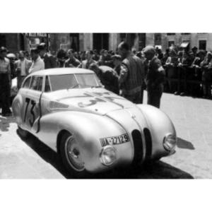 "BMW 328 ""Mille Miglia"" Kamm Racing Saloon at the 1st Italian Mille Miglia Grand Prix in Brescia, April 28, 1940 (03/2010)"