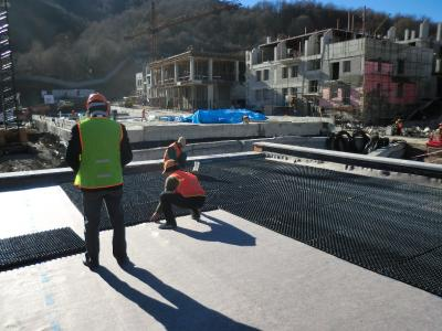 The 1 x 2 m Floradrain® elements were quickly installed. Source: ZinCo