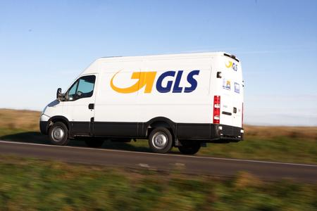 GLS Express Delivery Van