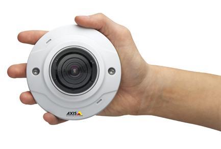 Die neuen AXIS M30-Kamera stellen eine kostengünstige HDTV- Überwachungslösung dar