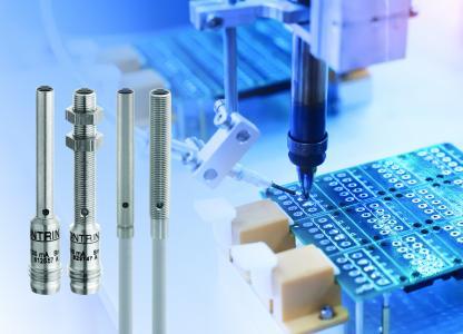 Die neuen photoelektrischen Miniatursensoren in 4 mm oder M5 Bauform gibt es als Lichttaster mit einer 12-, 24-, 60- oder 120-mm-Reichweite und als Einweglichtschranke mit Erfassungsbereich 600 mm / Quelle: Contrinex, Shutterstock/asharkyu