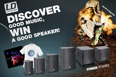 "Win a LD Systems STINGER G2 speaker  and the current ""Jacob & Phil Fill"" CD!"