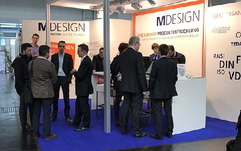 MDESIGN Messestand HM 17