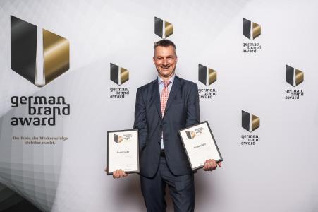 brainLight GmbH: 2-fache Auszeichnung mit dem German Brand Award 2019