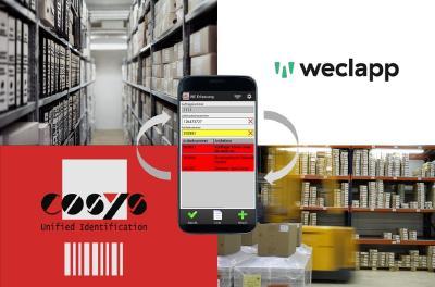 Kombination aus COSYS Warehouse Lösung und Weclapp