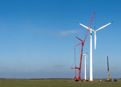 Für Rückbau, Demontage, Recycling und Verwertung von Windenergieanlagen gibt es nun erstmals einheitliche Standards. (Foto: Hagedorn Abbruchservice GmbH)