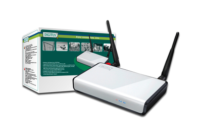 DIGITUS® Wireless 300N Modem Router und PoE Access Point