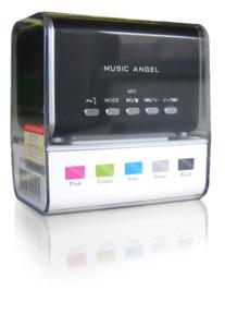 Music Angel in modernen Farben